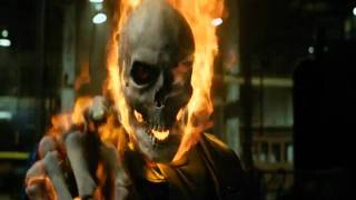 getlinkyoutube.com-Ghost Rider First Transformation
