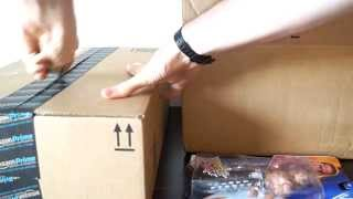 getlinkyoutube.com-WWE Amazon & Toys R Us Package Unboxing (RELAXATION UNBOXING!!!) asmr