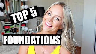 getlinkyoutube.com-Foundations That Last On Oily Skin | Top 5 Foundations