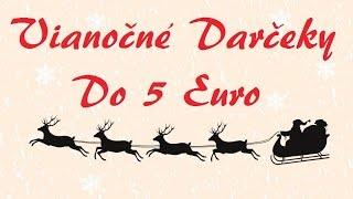 getlinkyoutube.com-Nápady na Vianočné darčeky do 5 euro / Adventný kalendár 5.deň