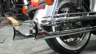 getlinkyoutube.com-DBI Performance Fishtail Slip On MUffler sound clip