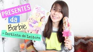 getlinkyoutube.com-Presentes da Barbie + Cartinha da Leitora