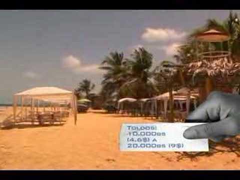Video de playas de venezuela, chirere, estado miranda en youtube