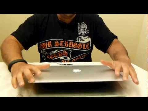 MacBook Pro with retina display unboxing