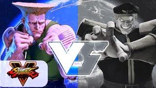 Imstilldadaddy (Guile) Vs Tyrant (M. Bison) Street Fighter 5/V Gameplay