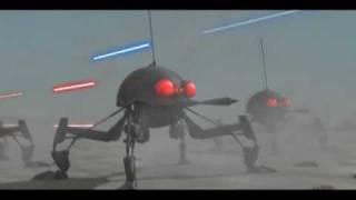 getlinkyoutube.com-The Clone Wars - Dwarf Spider Droids Battle Animation (Fan-Made)