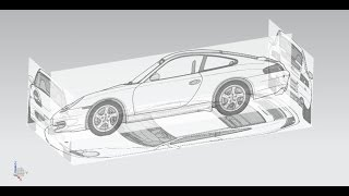getlinkyoutube.com-NX 9. How to introduce raster image (Car Blueprint). Como introducir imágenes rasterizadas