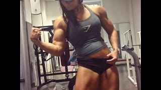 Sophie Arvebrink Training Biceps-Workout