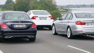 getlinkyoutube.com-Volvo S60 vs. BMW 325d vs. Mercedes C 250