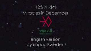 EXO 12월의 기적 (Miracles in December) English Cover