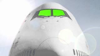getlinkyoutube.com-Green Screen Airplane Front