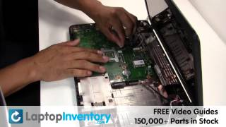 getlinkyoutube.com-Toshiba Satellite C650 L675 Fan Repair Fix Replacement - CPU Cooling Fan Heatsink Notebook Laptop
