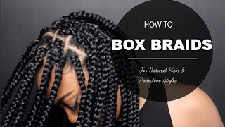 getlinkyoutube.com-How To| Box Braids Proctective Style