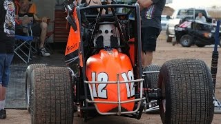 getlinkyoutube.com-USAC sprintcar feature Arizona Speedway 7/12/14