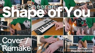 getlinkyoutube.com-Ed Sheeran - Shape Of You (Instrumental Cover)