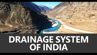 Geography Lecture for UPSC CSE (IAS): Drainage System of India - Unacademy
