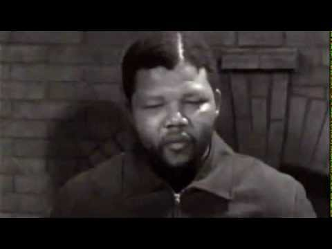 Nelson Mandela's first TV interview in 1961 by ITN reporter Brian Widlake 360p