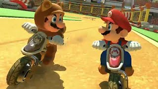 getlinkyoutube.com-Mario Kart 8 DLC Excitebike Arena Gameplay (Wii U) 【HD】