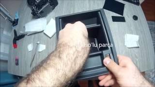getlinkyoutube.com-Seat Leon mk3(5f) Kolçak İçi Kadife Folyo Kaplama -DIY - Tutorial