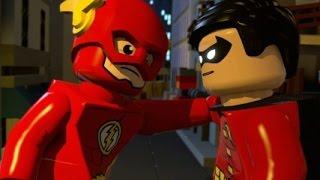 getlinkyoutube.com-LEGO Batman 3: Beyond Gotham - Walkthrough Part 9 - Big Trouble in Little Gotham