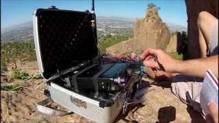 getlinkyoutube.com-Yaesu 817 portable CW QRP