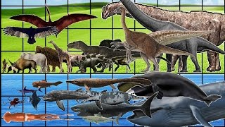 getlinkyoutube.com-ALL Animals, Dinosaurs & Sea Monsters SIZE COMPARISON