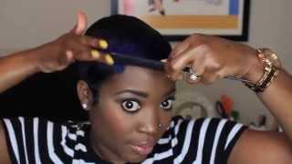 getlinkyoutube.com-My Shampoo, Mold & Style Routine For Short Hair
