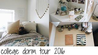 getlinkyoutube.com-COLLEGE DORM TOUR 2016