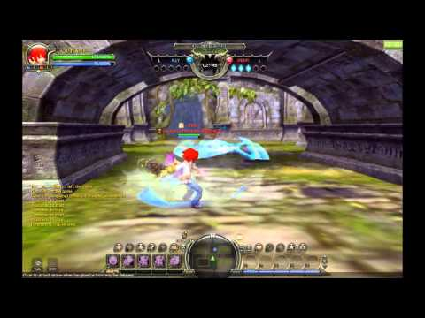 Dragon Nest: Barbarian vs Moon Lord (Mercenary and Sword Master 3rd Class)