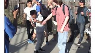 getlinkyoutube.com-Asian kid gets bullied by white kid.