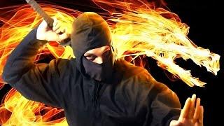 getlinkyoutube.com-PIRATES OR NINJAS OR HITLER? | 10 Second Ninja