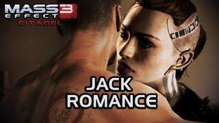 Mass Effect 3 Citadel DLC: Jack Romance (All scenes)