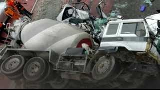 getlinkyoutube.com-'도로의 무법자' 레미콘…났다 하면 대형사고