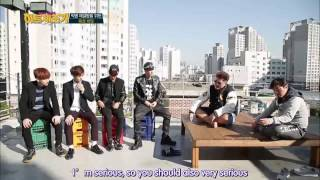 getlinkyoutube.com-[ENG SUB] HITMAKER Season2 141212 EP1 (Jacksonwang Bar)
