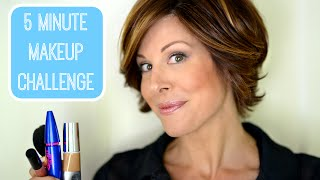 getlinkyoutube.com-5 Minute Makeup Challenge!