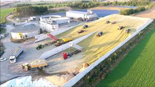 getlinkyoutube.com-Big Corn Silage Smrzice Czech Republic DJI Phantom 4