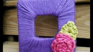 getlinkyoutube.com-Episode 85: How to Make and Crochet a Blooming Photo Frame