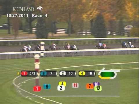 (10/27/2011) Keeneland Race 4