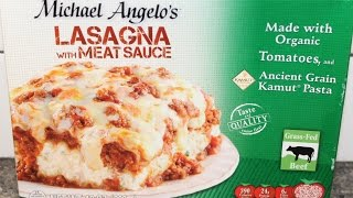 Michael Angelo's Organic: Lasagna with Meat Sauce Review