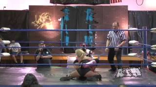 getlinkyoutube.com-Jennifer Blake VS. Allysin Kay - Absolute Intense Wrestling