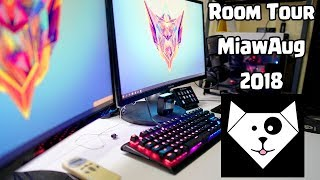 Room Tour 2018 - MiawAug Gaming Room