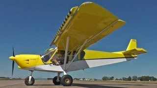 Zenith STOL CH 750 with drooped wing leading-edge slats