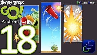 getlinkyoutube.com-Angry Birds GO Android Walkthrough - Part 18 - AIR: Track 3 - Champion Chase