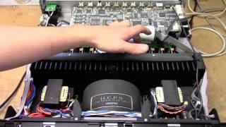 Onkyo TX-NR5007 no sound repair (BGA reflow, reinforcement & heatsinking)