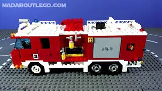 getlinkyoutube.com-LEGO Fire Engine Light and Sound 735