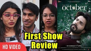 October Movie First REVIEW | First Day First Show REVIEW | Varun Dhawan, Shoojit Sircar