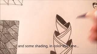 How to draw tanglepattern Awrop