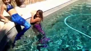 getlinkyoutube.com-The Fin Fun Mermaid Tail