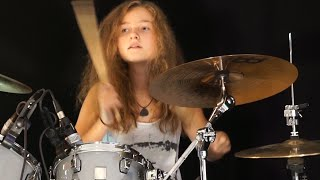getlinkyoutube.com-Master Of Puppets (Metallica); drum cover by Sina