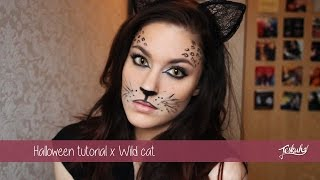 getlinkyoutube.com-Carnaval/Halloween tutorial x Wild Cat | Teske